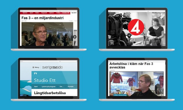 Blåeld i TV och radio under 2014