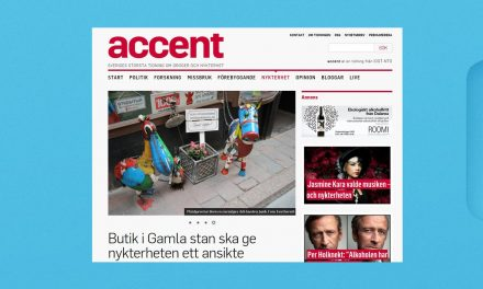 Artikel om Blåbandets butik You are an Angel i Accentmagasin